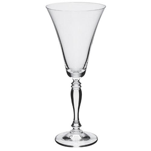 Jogo De Taças De Vinho Cristal Bohemia Com Titânio (6 Peças)