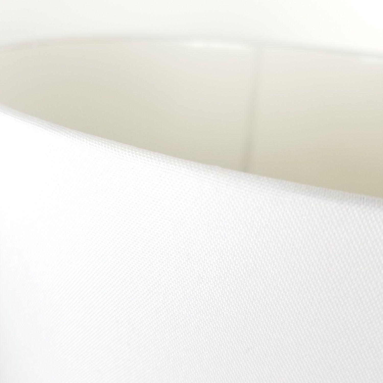 Kit 2 Cúpulas Cilíndricas De Tecido 40x22cm - Branca