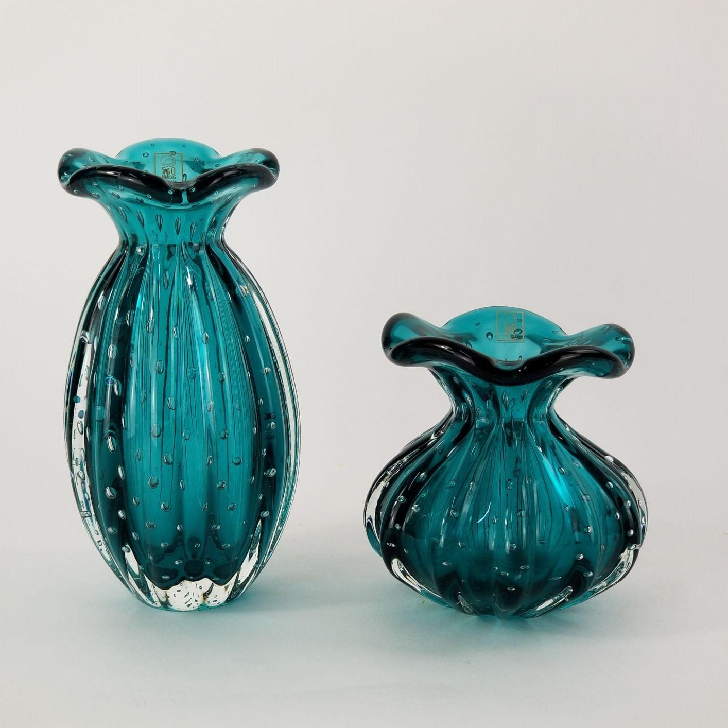 Kit Trouxinhas de Murano São Marcos - Esmeralda (2 Peças)
