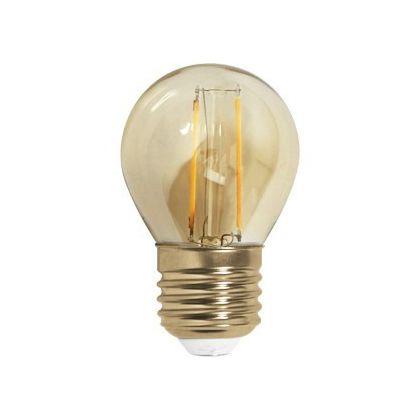 Lâmpada LED Filamento Bolinha G45 - Retrô para Pendentes (Ref. G45)