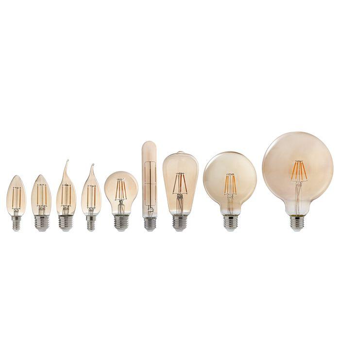 Lâmpada LED - Filamento Vela 2,5W E-14