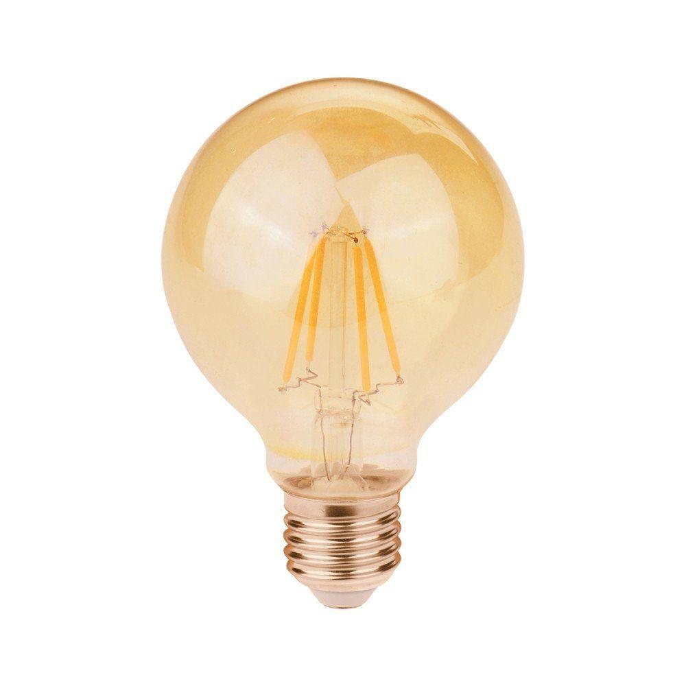 Lâmpada Retrô Bulbo - Filamento LED E-27 G80