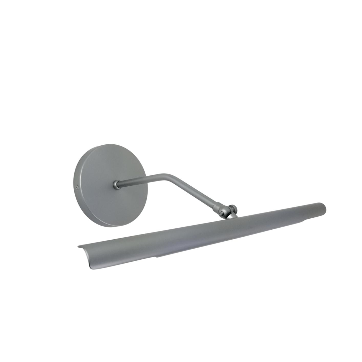 Luminária / Arandela para Iluminar Quadro - Prata Metalizado