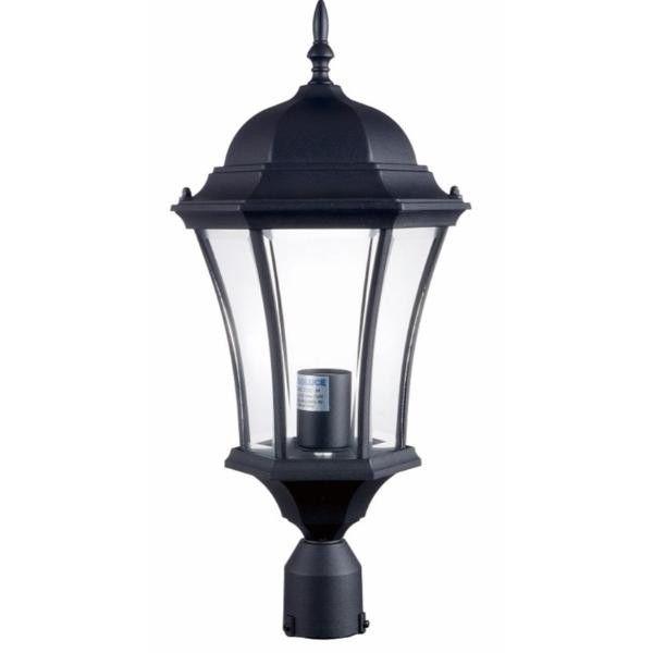 Luminária Cabeça De Poste - Modelo Lyon 50cm
