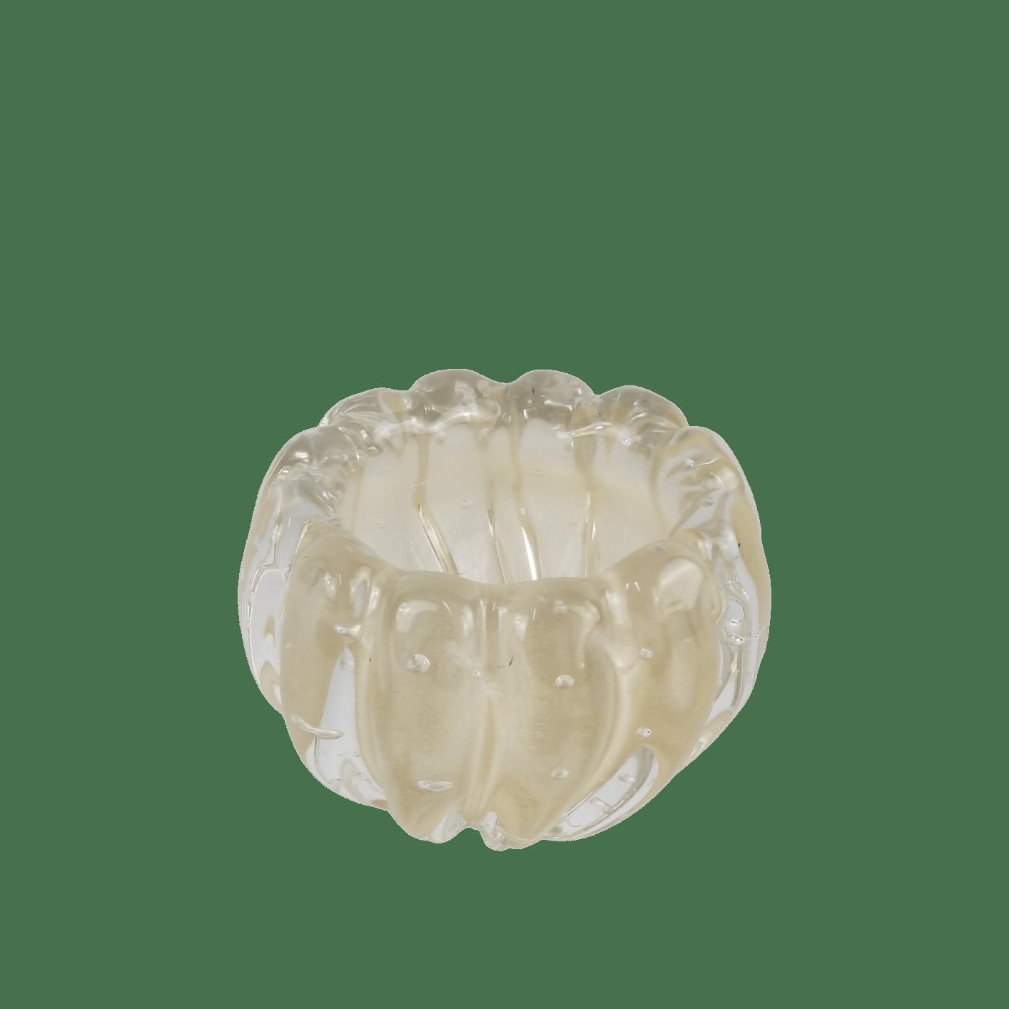 Mini Cachepot De Murano D'Labone - Liceu Cristal Champanhe