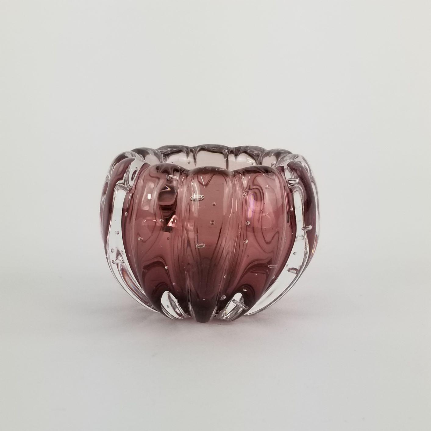 Mini Cachepot De Murano D'Labone - Liceu Cristal New Rubi