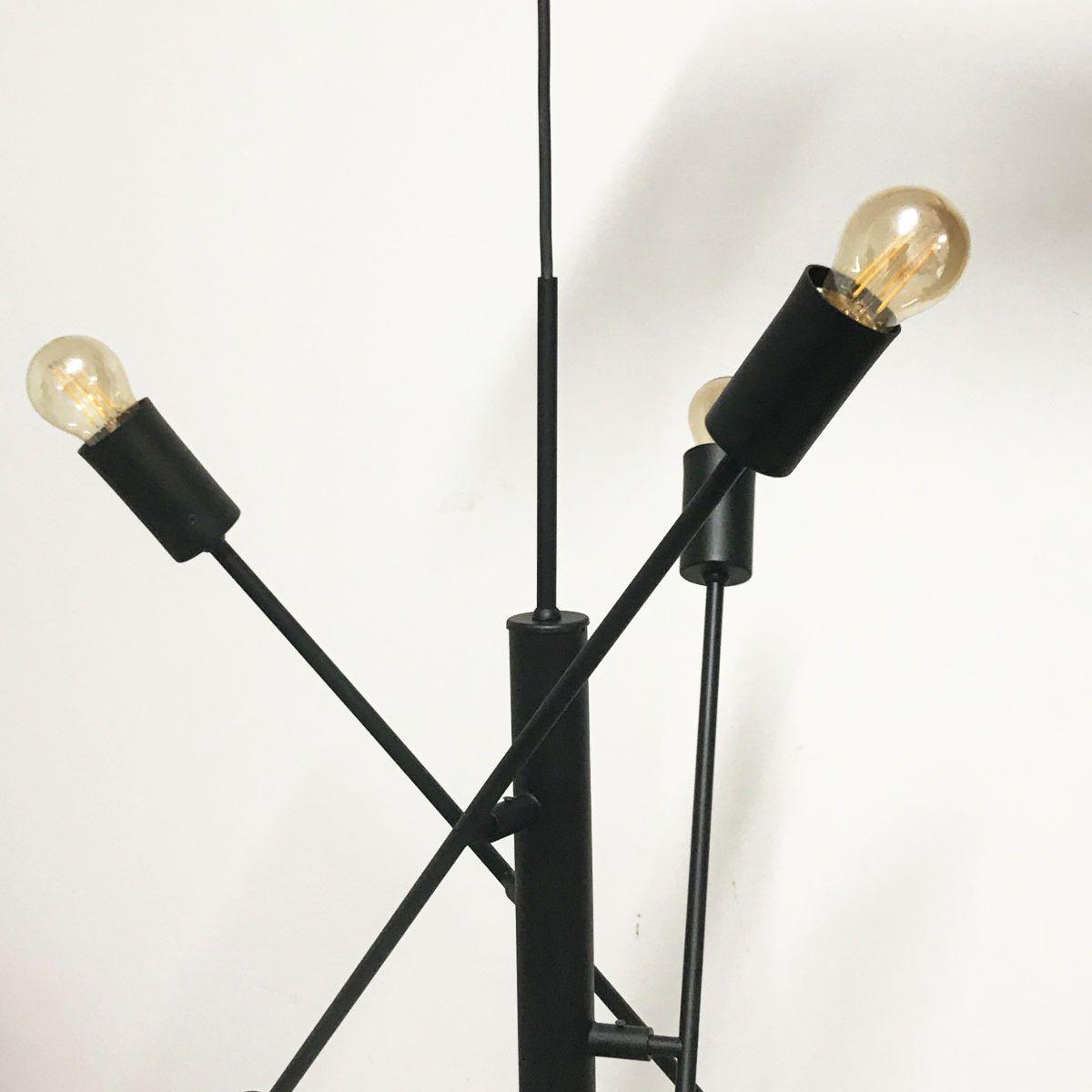Pendente Articulado Versatile Preto 65cm