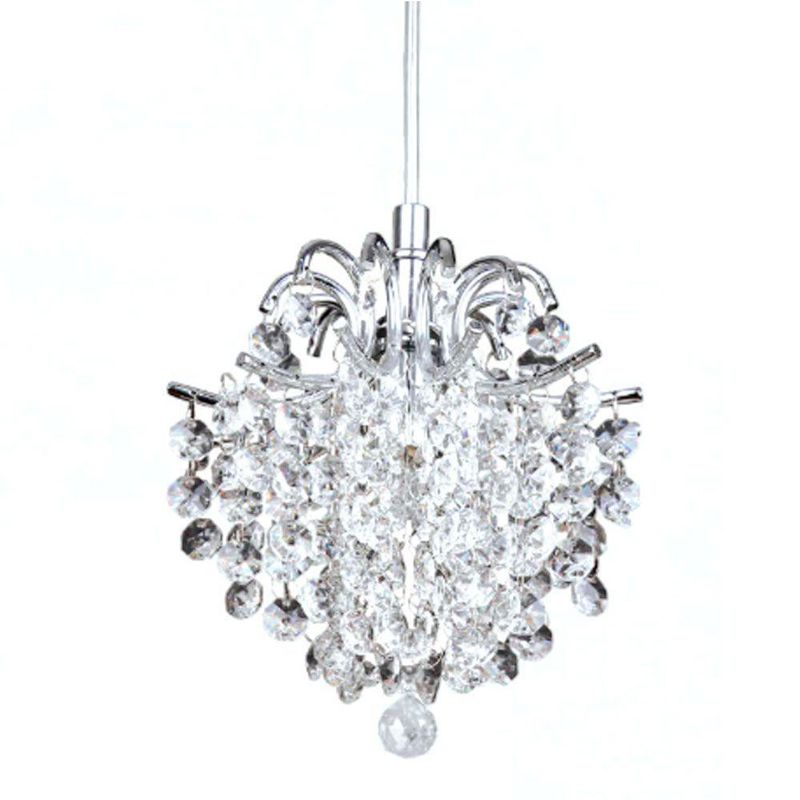 Pendente de Cristal - Bella Fiore Transparente 18cm