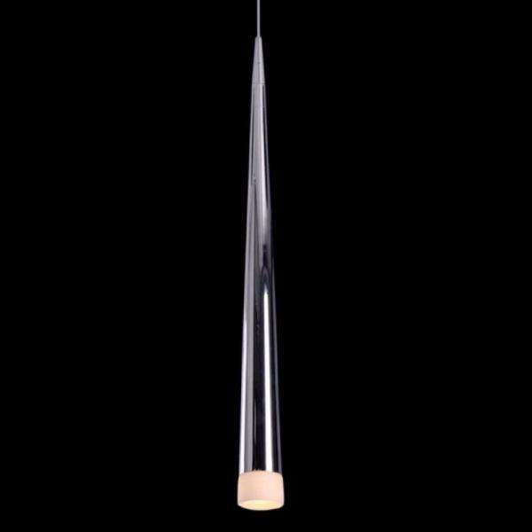 Pendente Moderno Metal Cromado - Bella Fill 60cm