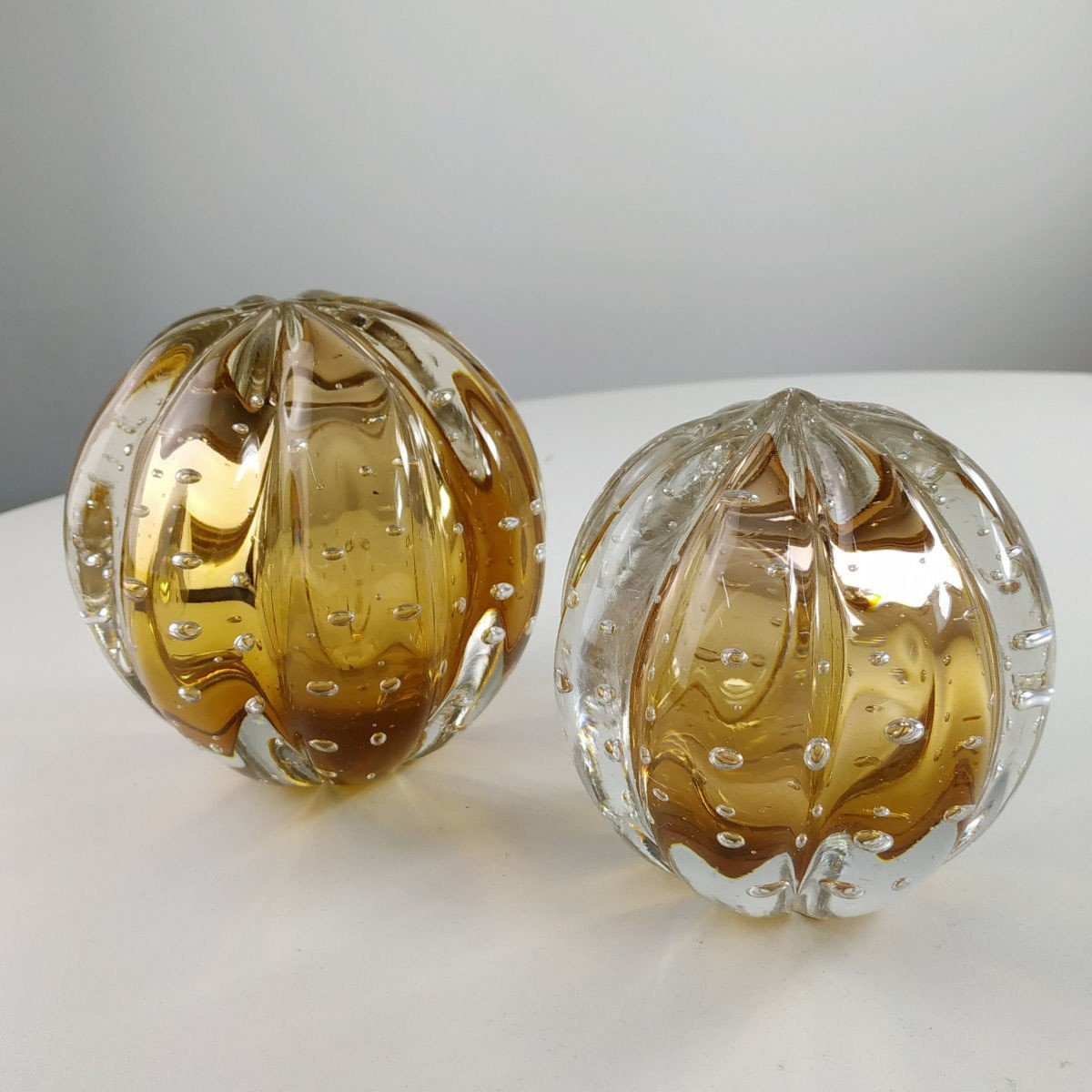 Peso de Cristal Murano D'labone - Cristal Garnet Senna 8cm
