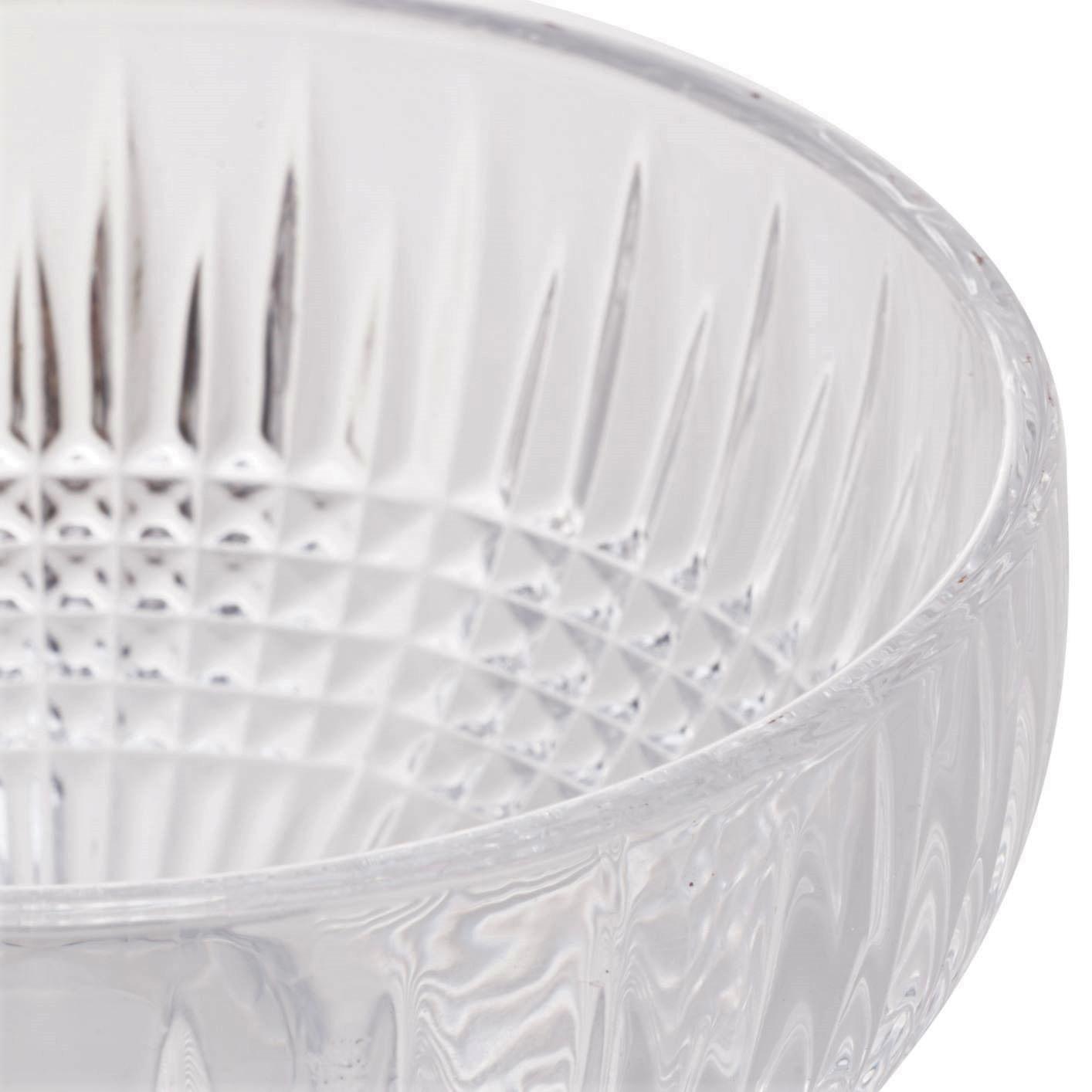 Taça de Sorvete Cristal Wolff Queen Transparente (6 Peças)