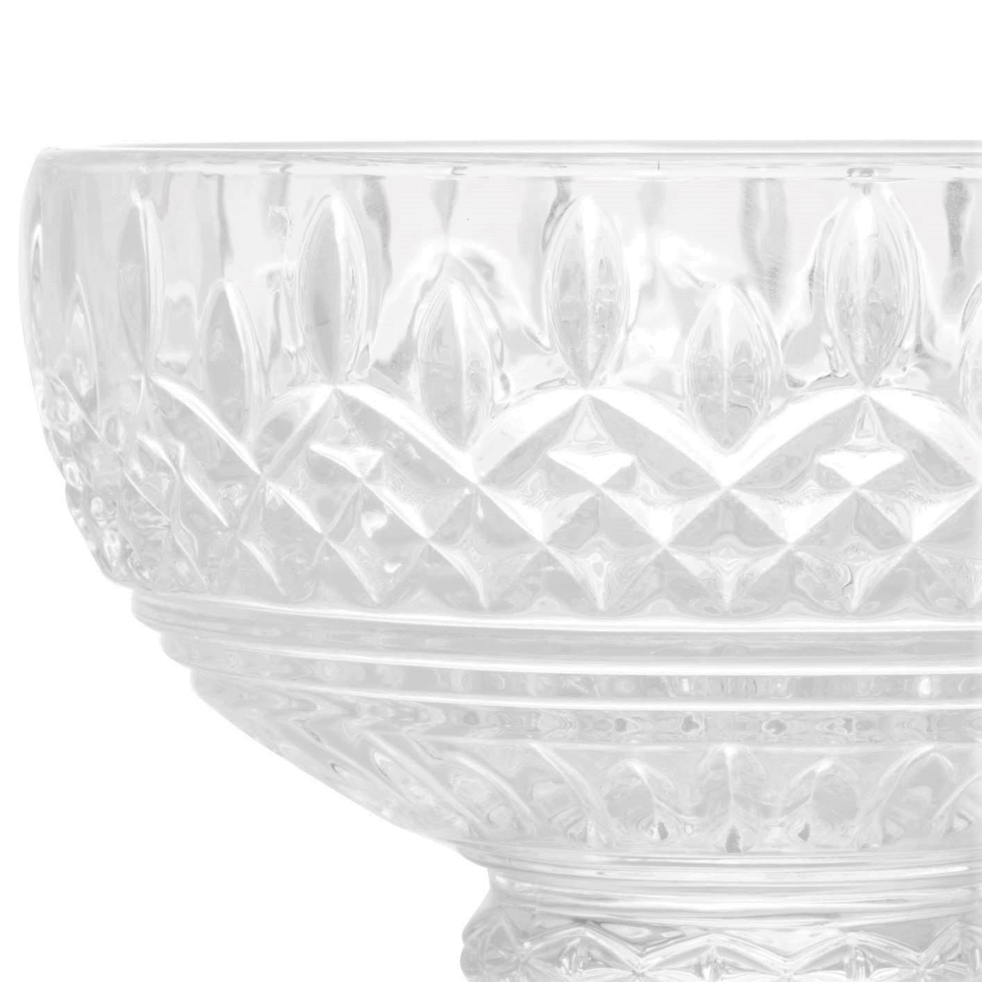 Taça de Sorvete de Cristal Wolff Lys Transparente (6 Peças)