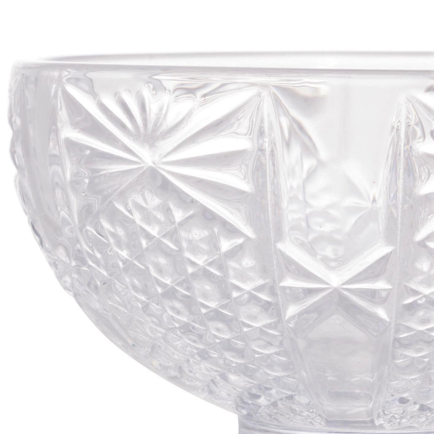 Taça de Sorvete de Cristal Wolff Princess Incolor (6 Peças)