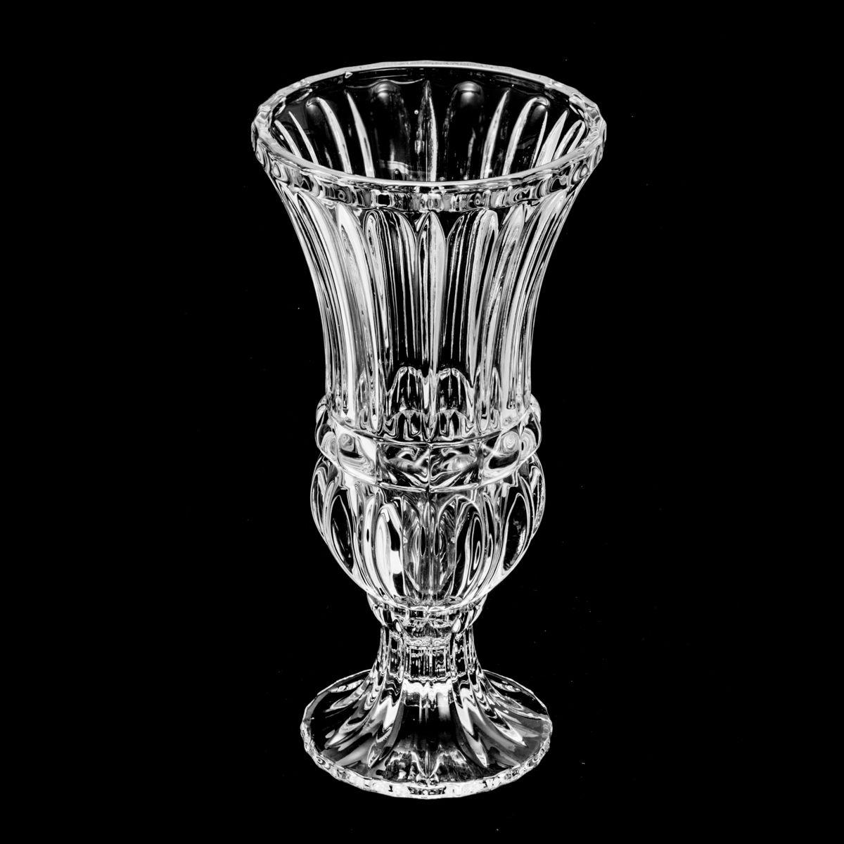 Vaso de Cristal com Pé - Wolf Athena Médio 30cm