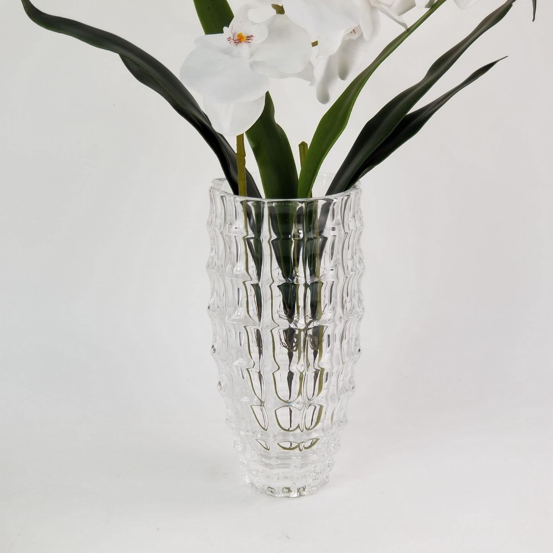 Vaso de Vidro Decorativo para Flores (Não Inclusas) - 28cm
