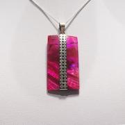 Colar Feminino Groumet Pingente Em Prata 925 Caixa Veludo