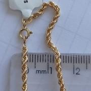 Corrente Cordão Com 40cm Em Ouro 18k - 3.0grs