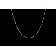 Corrente Groumet Em Ouro 18k - 750 - 50cm - 2.5grs