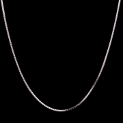 Corrente Veneziana Com 50cm Em Prata 925 - 2.0grs