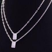 Escapulário N.s. Carmo S. Coração E De Jesus Em Prata 925 65cm