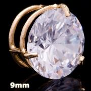 Pingente Ponto De Luz Com Zircônia Em Ouro 18k - 750 - 9mm