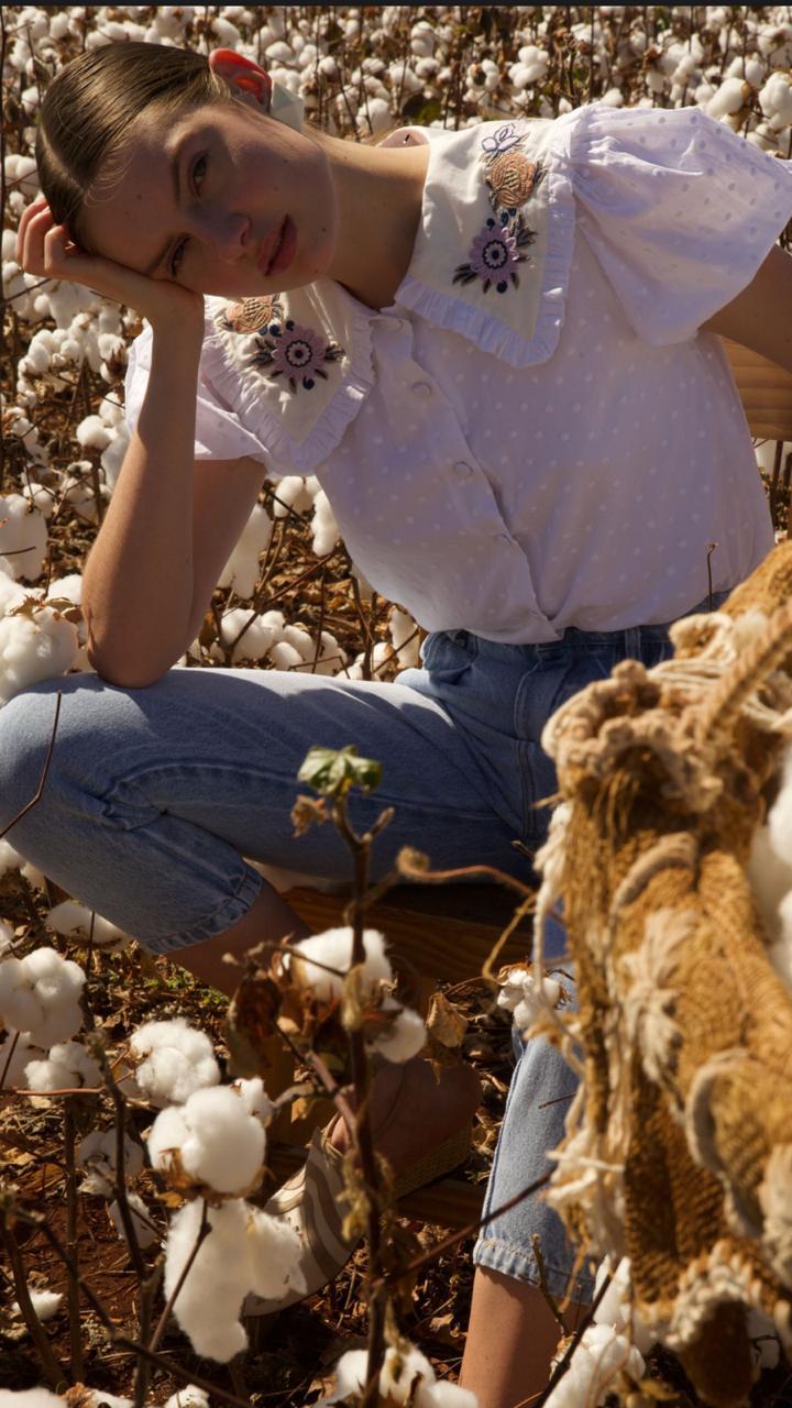 Calça Jeans Reta - Iorane