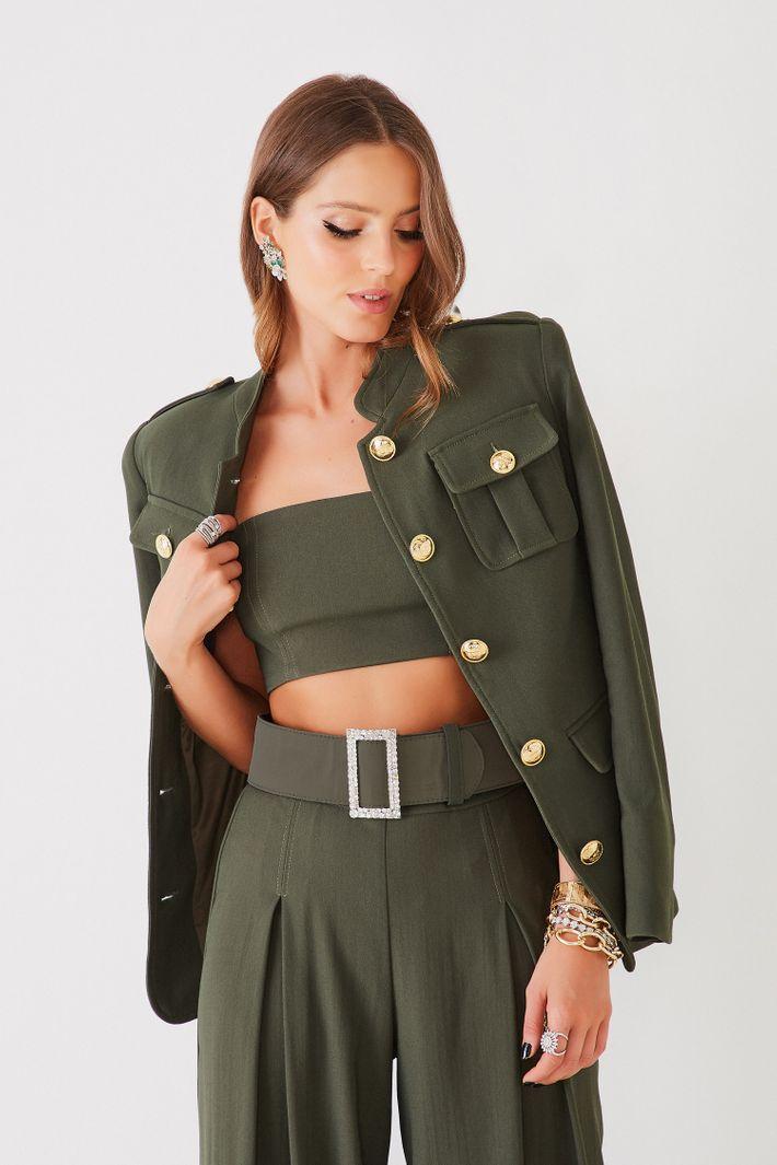 Jaqueta Monica Militar - Fabulous Agilità