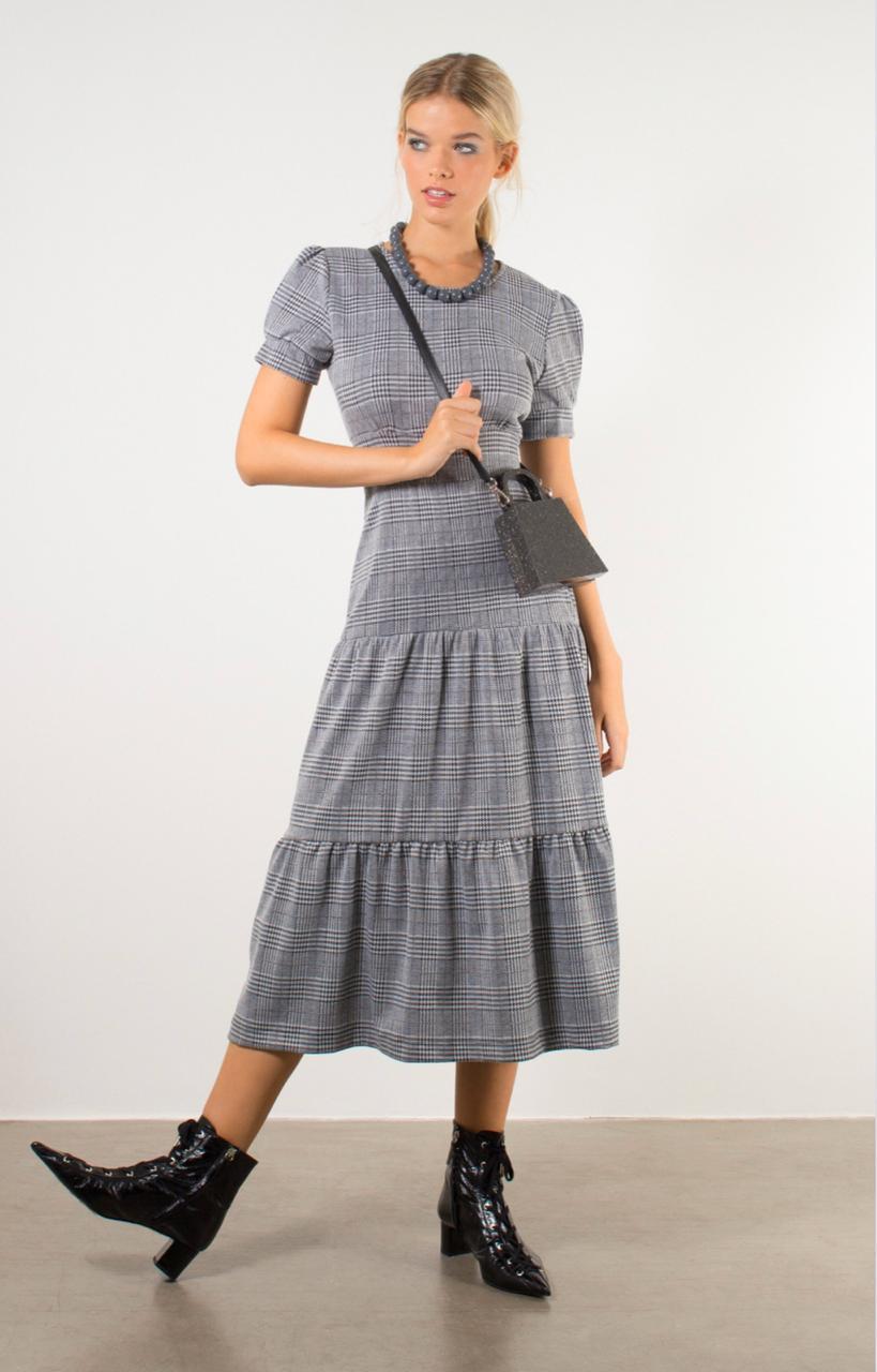 Vestido Alexia Mescla - Linda de Morrer
