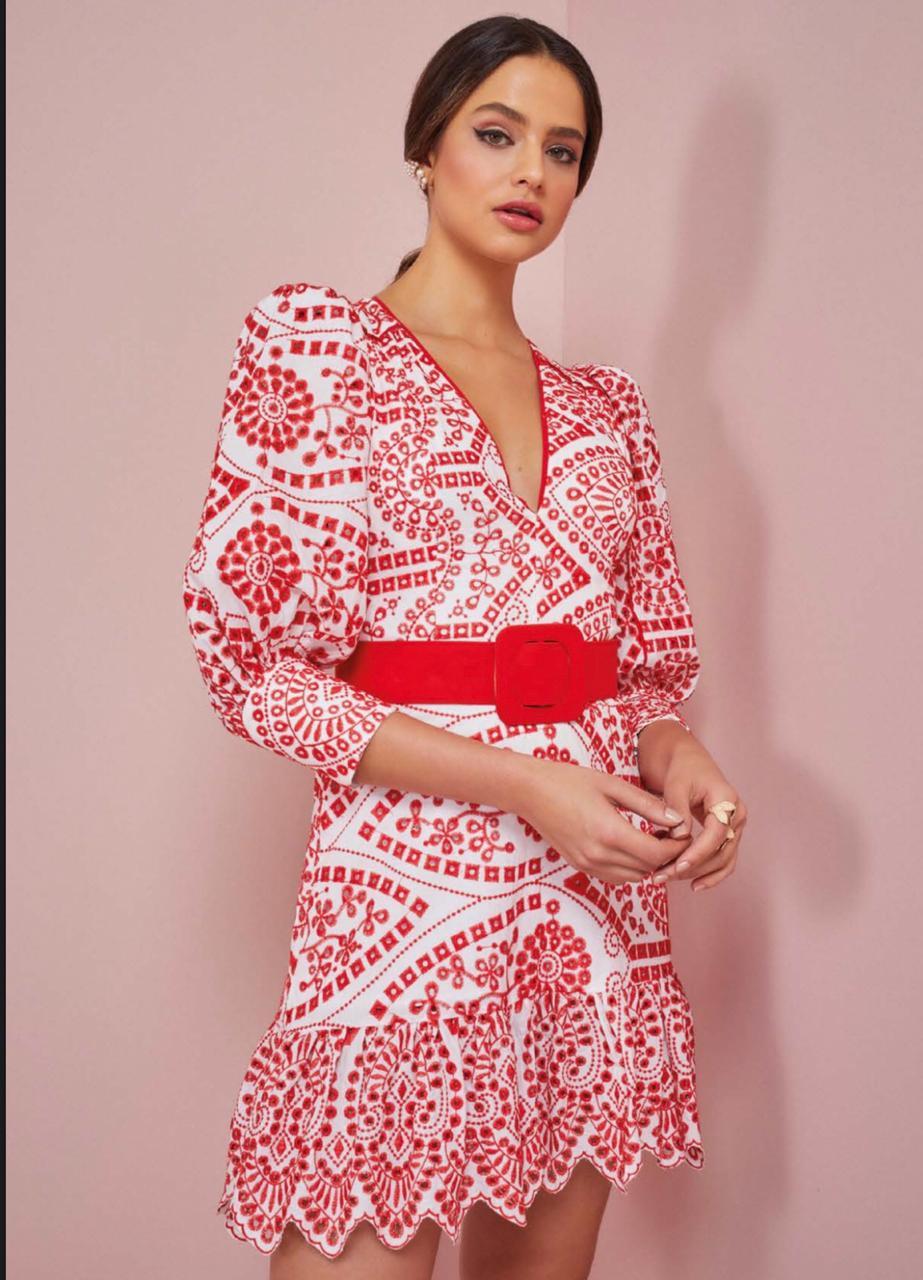 Vestido Aline - Rosa Dahlia
