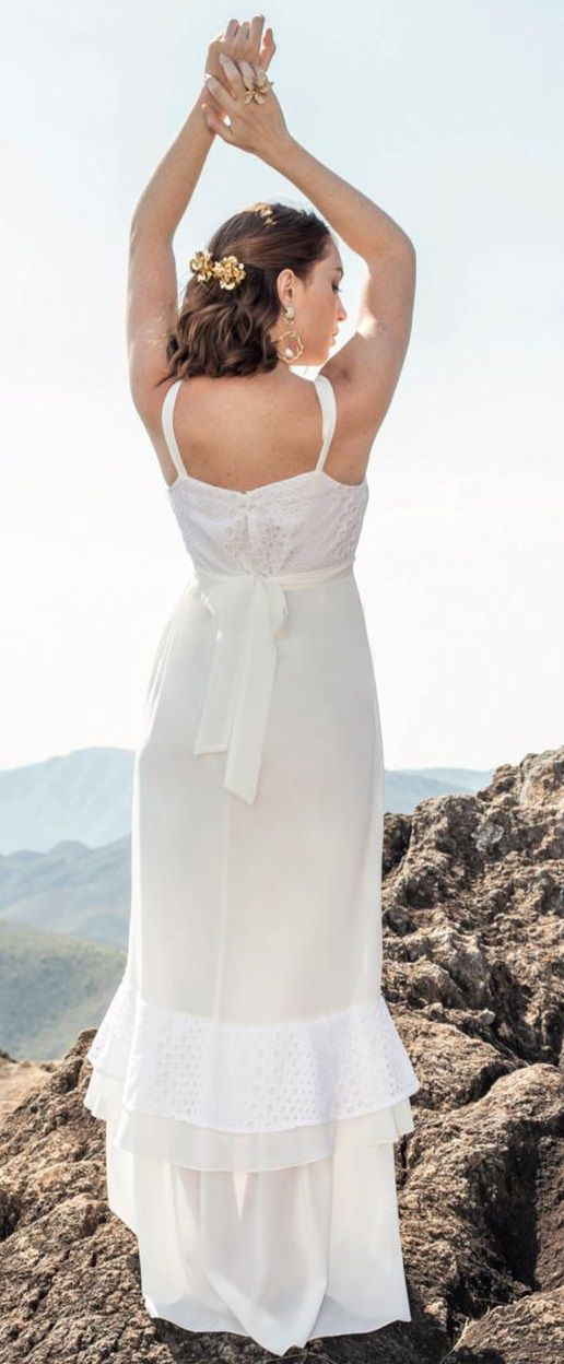 Vestido Crepe com Leise - Padronagem