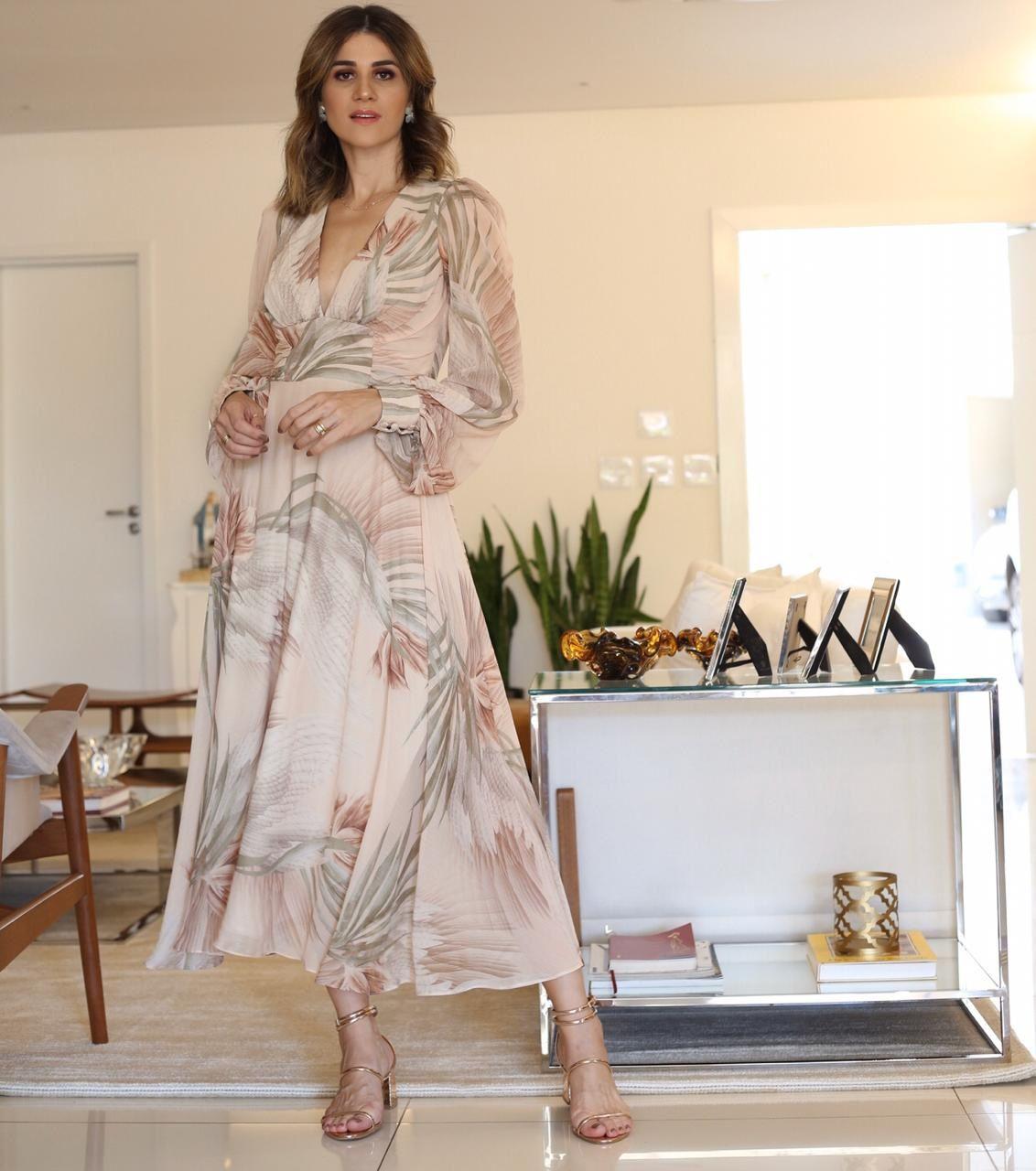 Vestido Estampado - Lorane