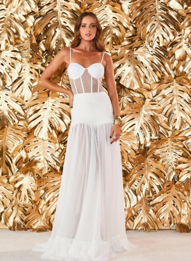 Vestido Longo Rafaela - Faboulos