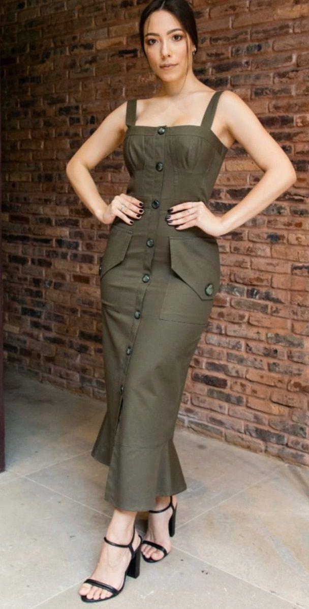 Vestido Longuete Alça Dupla - Iorane
