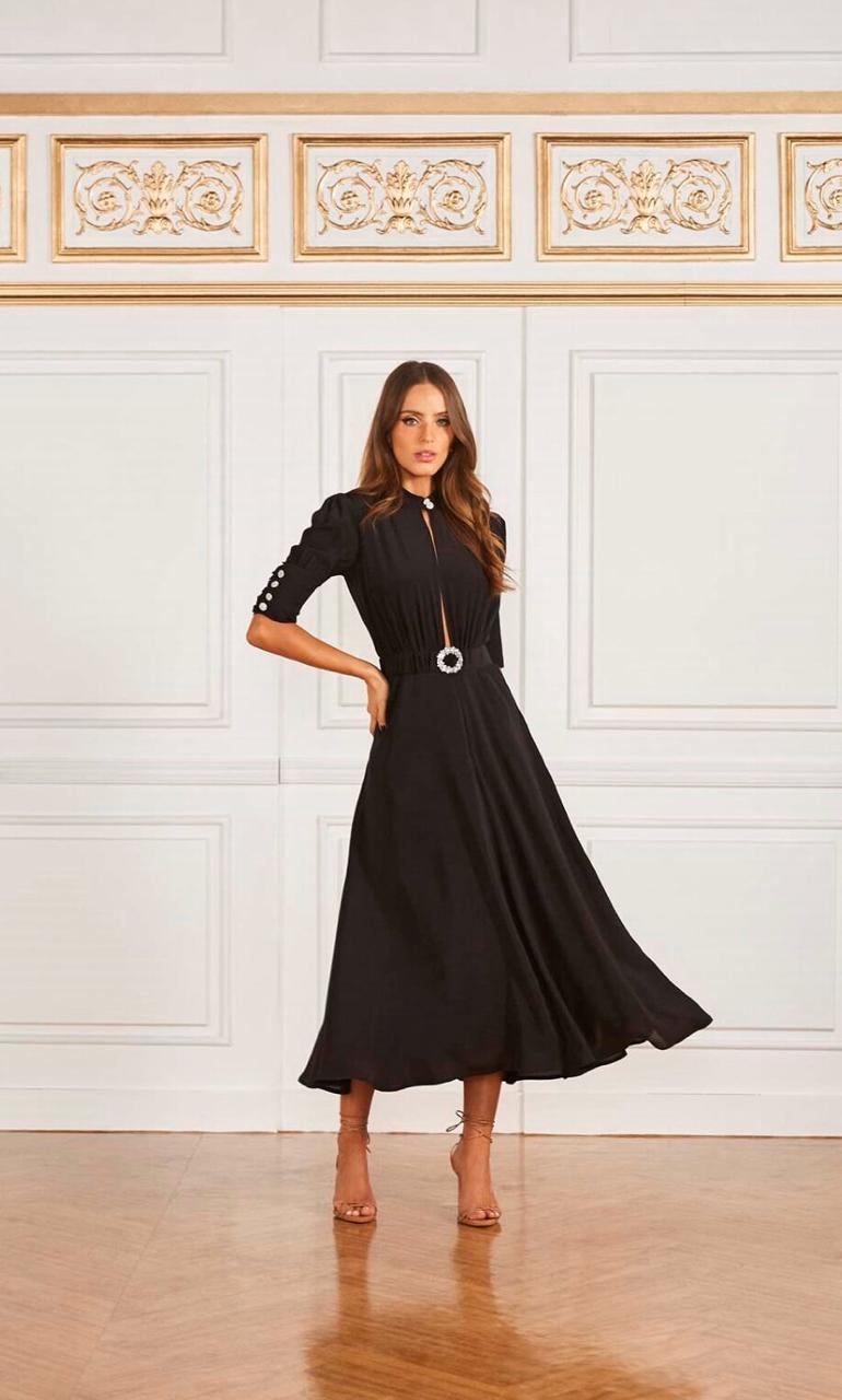 Vestido Midi Ma - Fabulous - Agilita