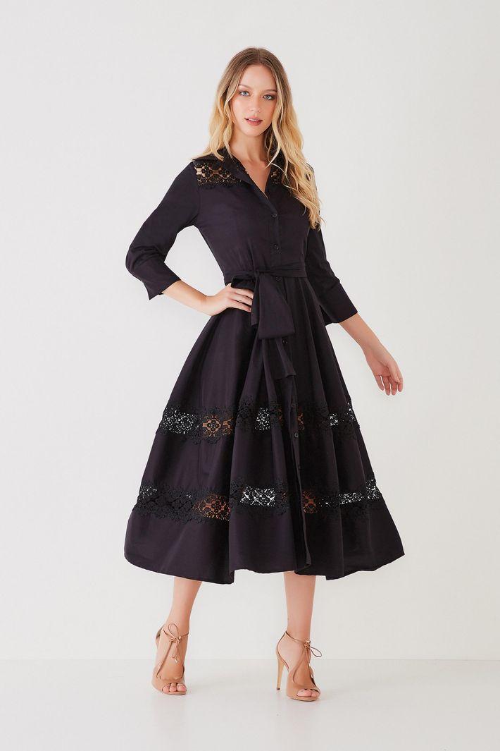 Vestido Midi Tricoline - Agilitá