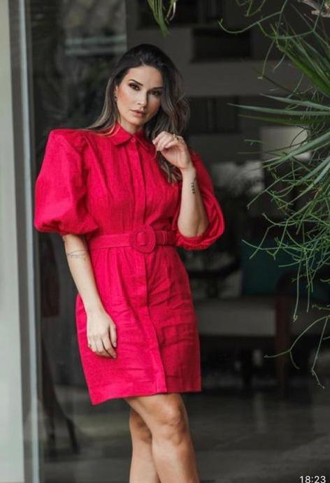 Vestido Polly - Rosa Dalhia