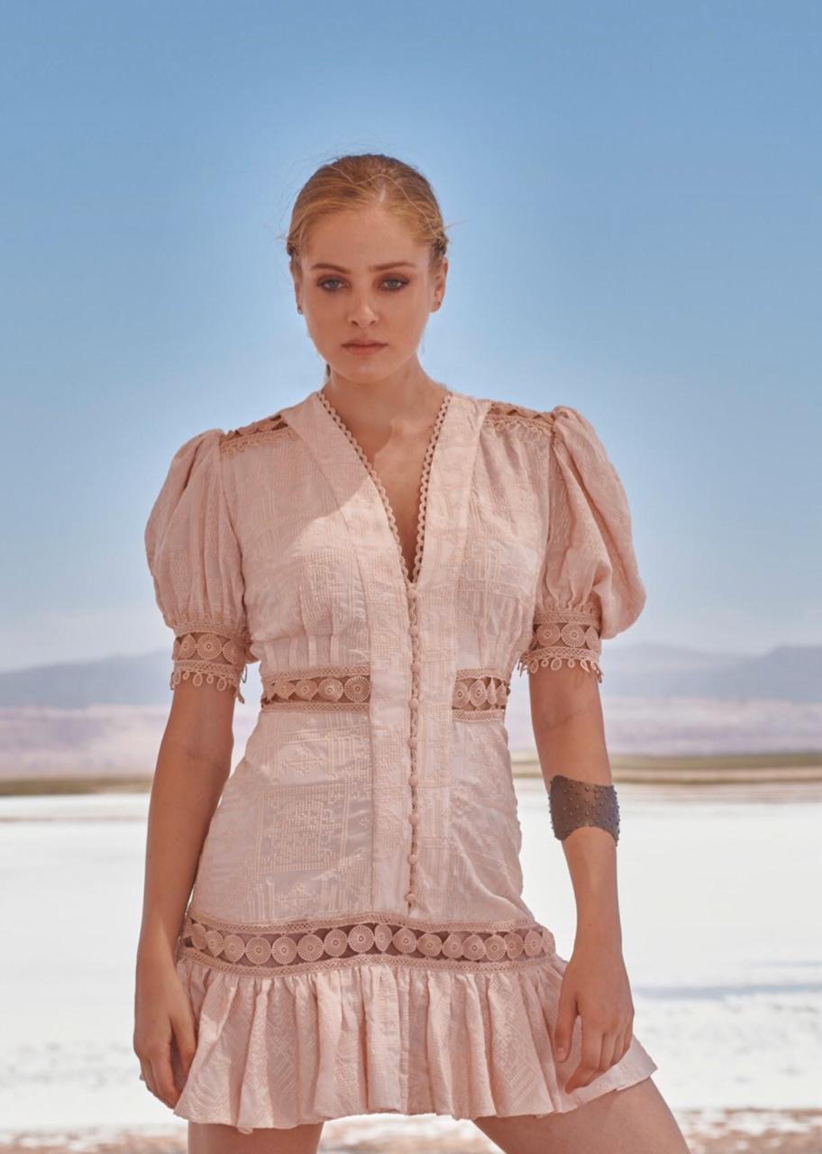 Vestido Rose Curto - Ln Brand