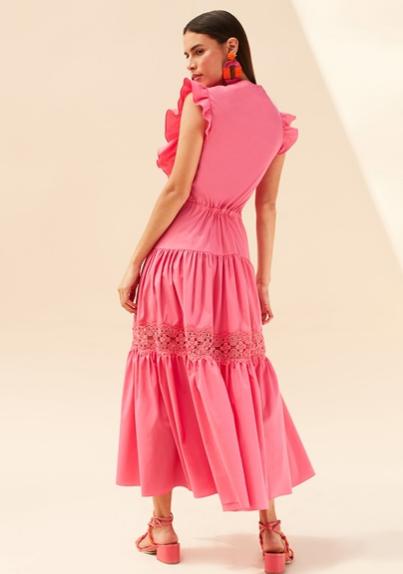 Vestido Tricoline Midi - Skazi