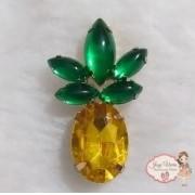 Abacaxi dourado(Par)
