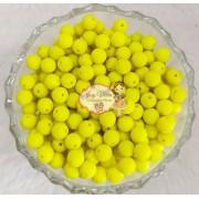Bola emborrachada 8mm Verde Limão 100g