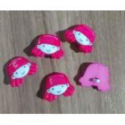 Botões Elaine Rosa (12 unidades)