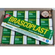 Caixa 16 colas Brascoplast 75g
