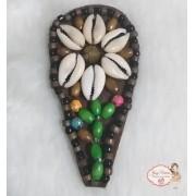 Cabedal Lateral com Flor (Par)