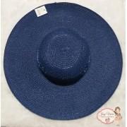 Chapéu Adulto Aba Grande Azul Escuro