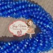 Cristais Cor Azul Furta Cor Tam 6 (apx 90 unidades)