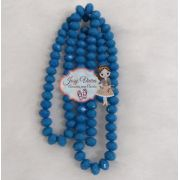 Cristais Cor Azul Oceano Tam 6 (apx 90 unidades)