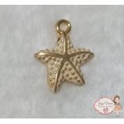 Estrela dourada com Creme(1 unidade)