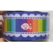 Fita GORGURÃO Newz Azul Color Rolo 10mx38mm