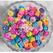 Flor Passante em PVC Colorida (50 unidades)