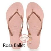 Havaiana SLIM Rosa Ballet 39/40